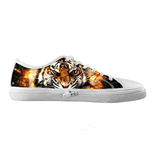 Cheese sobre tamaño Tigre Originals Zapatos Lienzo de alta moda de hombres Moda sobre tamaño de Qualit ¨ ¤ delle Zapatillas de tenis, US13/EUR46
