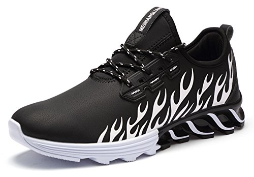 Inniuquma store Running Shoes For Outdoor Comfortable Men Mesh Athletic Shoes Lace-up Walking Sneakers Men Breathable Sport - Store Hk Jordan