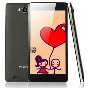 """Cell Accessory CUBOT S208 1+16GB Quad-core Processor Android 4.2.2 Cellphone with 5.0"""" Screen (EU Standard) Black"""