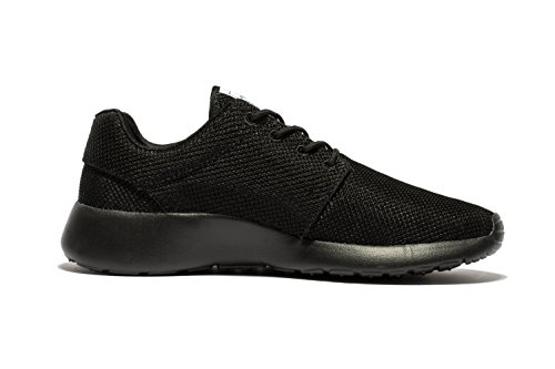 Daillor Hobu - Zapatillas de running de Material Sintético para mujer Allblack