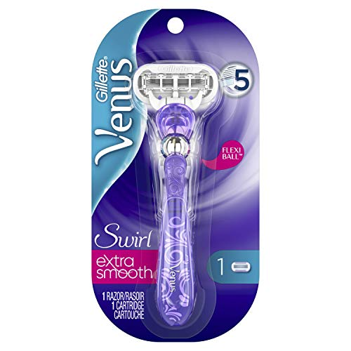 Gillette Venus Extra Smooth Swirl Women's Razor - 1 Handle + 1 Refill