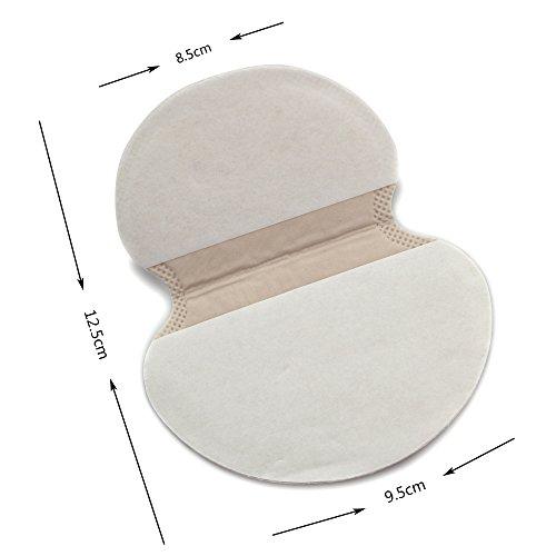 HailiCare Armpit Sweat Pads, 100 Counts, Organic Pads Sweat Shield, Armpits Antiperspirant for Men Women, No Perfume Spirits