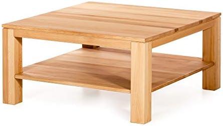Marca Amazon - Alkove - Hayes - Mesa de centro cuadrada de madera ...