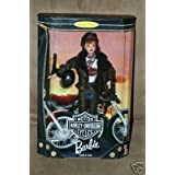 Mattel 1998 Barbie Collector Edition : Harley Davidson Motor Cycles Red Head Barbie second in a series
