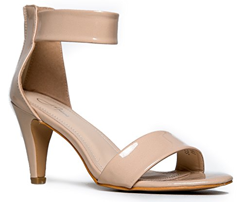 Women's Ankle Strap Open Peep Toe High Heels | Dress, Wedding, Party Heeled Sandals | Elegant, Comfortable & Strappy