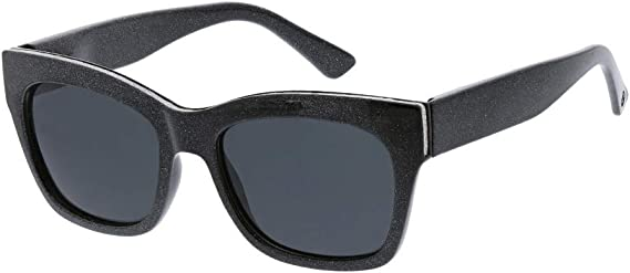 Peepers by PeeperSpecs Women's Shine on Square Polarized No Correction Sunglasses