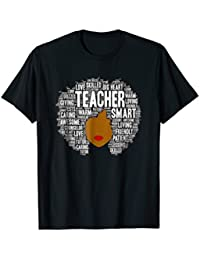 Natural Hair Afro T-Shirt for African American Teachers