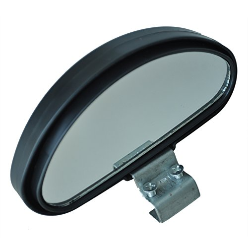 Pukido AUTO Amico Black Plastic Casing Car Side Blindspot Blind Spot Mirror Wide Angle View