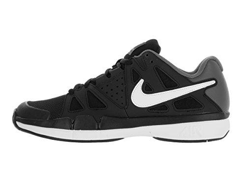 Nike Air Vapor Advantage, Scarpe da Tennis Uomo Nero / Bianco / Grigio (Nero / Bianco-grigio Scuro)