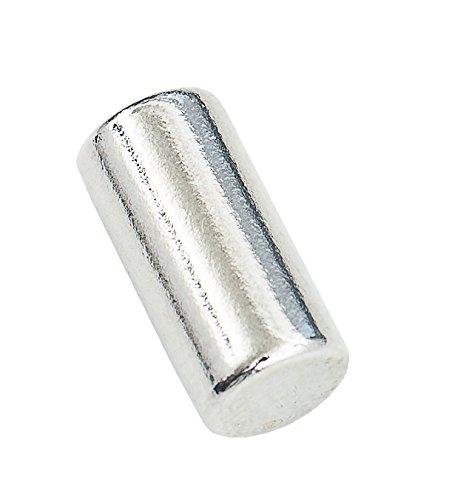 Connex DY7100005Pole Magnetic Neodymium Cylinder-0.9kg Pull (Pack of 100.5x 0.5x - Neodymium Bulbs