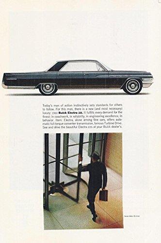 1963 Vintage Magazine Cars Advertisement Buick Electra 225 Car