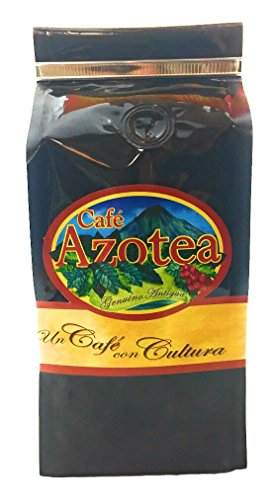 Guatemala Antigua Green Coffee - La Azotea Estate Genuine Antigua Guatemala Coffee - 100% Arabica SHB - Ecological Single Origin Gourmet Coffee (Dark Roast, Ground - 11.5 Oz)