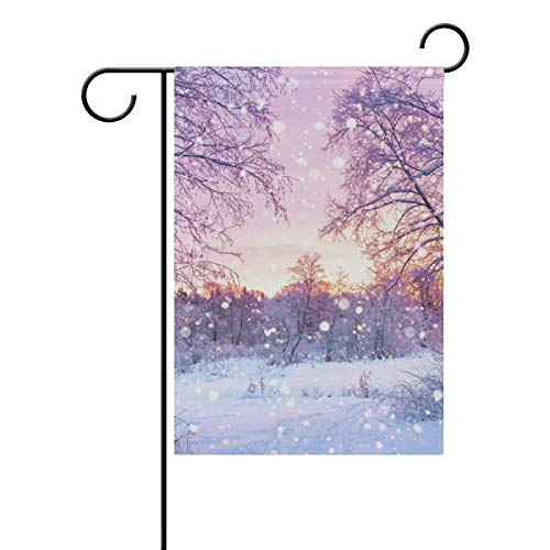 Fashbag Winter Forest Trees Sunrise Seasonal Holiday, used for sale  Delivered anywhere in Canada