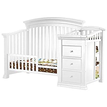 Amazon.com: sorelle Verona cambiador de cuna y bebé – Riel ...