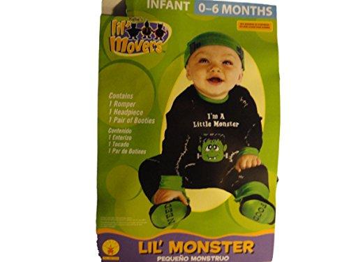 Lil' Monster Infant 0-6 Months Halloween Costume (Lil Monster Halloween Costume)