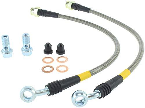 (StopTech (950.58500) Brake Line Kit, Stainless Steel)