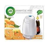 Air Wick Essential Mist, Essential Oil Diffuser, (Diffuser + 1 Refill), Mandarin & Sweet Tangerine, Air Freshener