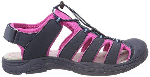 a Geka Marine Pink Donna Chiusa Tuerkis Tuerkis Nimbo Blu Pink Punta Marine Sandali wZqnf1rgw