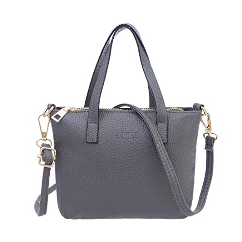Vintage Handbag Fashion Bags Purse Handbags Shoulder Familizo Women Gray Bag Leather Bags Shoulder Large Ladies PU Purse Purse Messenger Wallet Handbag Totes Tote Mini Ladies Bag PaZq7p