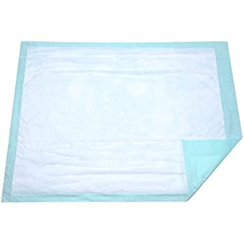 Extra Large Disposable Incontinence Bed Pad 10 Count (Size 36 x 36 Inch) - Hospital Underpad with Incontinence Protection for Adult, Child, or Pets - Absorbent Waterproof Chux by BrightCare