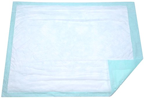 Extra Large Disposable Incontinence Bed Pad 10 Count (Size 36Wx36L) - Hospital Underpad with Incontinence Protection for Adult, Child, or Pets - Absorbent Waterproof Chux by BrightCare