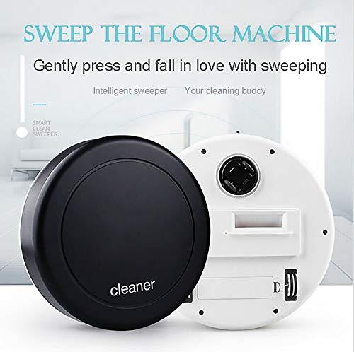 m·kvfa Strong Suction Quite Sweeping Vacuums Robotic Cleaner Good for Pet Hair Carpets Hard Floor Self-Charging High Efficiency and Energy Saving