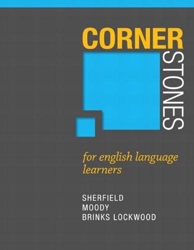Cornerstones for English Language Learners (Cornerstones Franchise)