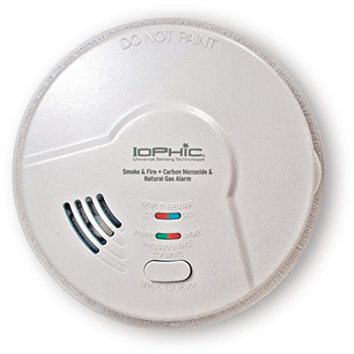 Universal Security Instruments 4-in-1 Universal Smoke-Sensing Technology Hardwired Smart Alarm, Model MDSCN111