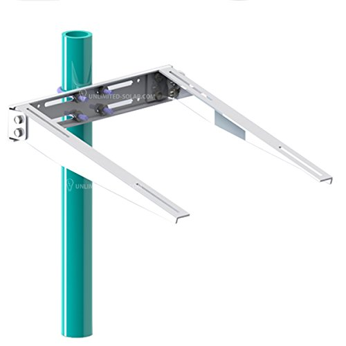 Unlimited Solar Universal Solar Panel Side of Pole, Wall ...