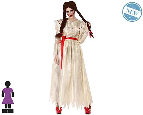Atosa-61177 Atosa-61177-Disfraz Muñeca Zombie-Adulto Mujer, Color ...