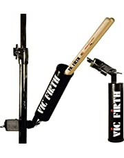 Vic Firth Steel Stick Caddy Stick Holder with Clamp - Black with Logo