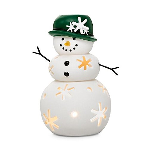 Christmas - Holiday Mrs. Snow Candle Holder Decoration by PartyLite