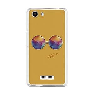 Funda Gel Wiko Bloom 2 BeCool Gafas de Sol Redondas