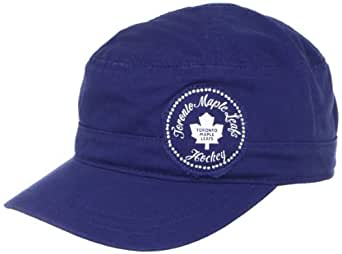 NHL Toronto Maple Leafs Women's Military Hat, One Size