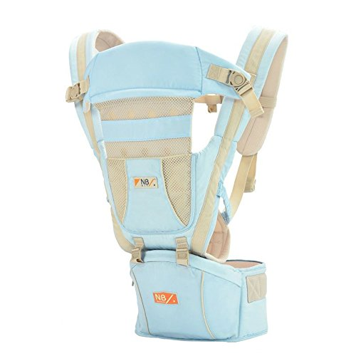 GuangYing Multifunctional Portable and Adjustable Baby Carrier, 360° Ergonomic Baby & Child Carrier The COMPLETE All Seasons! (Ktan Breeze White compare prices)