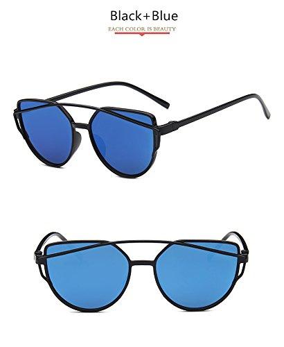 fd964b1c915a Amazon.com   Women Sunglasses 2017 New Brand Design Mirror Flat Rose Gold  Vintage Cateye Fashion sun glasses lady Eyewear   Everything Else