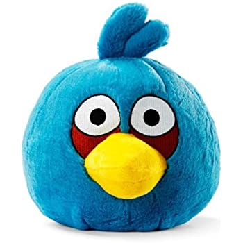 Amazon com : Angry Birds Plush 4-inch Red, Blue Yellow Birds Set of