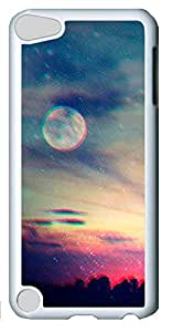Fashion Customized Case for iPod Touch 5 Generation White Cool Plastic Case Back Cover for iPod Touch 5th with Anything Could Happen