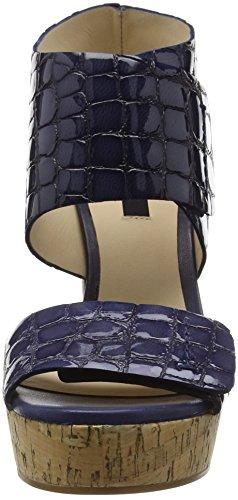 Zinda 2090 - Sandalias de Plataforma Mujer Azul - azul (marino)