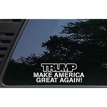 Amazoncom Make America Great Again M USA Vinyl Sticker Car - How to make vinyl decals for windows