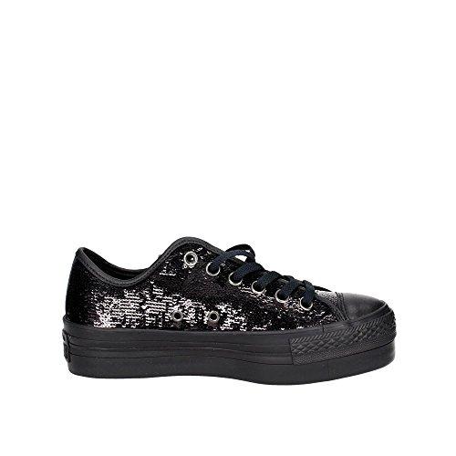 PLATEFORME CTAS 558984C Nero CONVERSE espadrilles de plate forme chaussures OX qxBqYF0fw