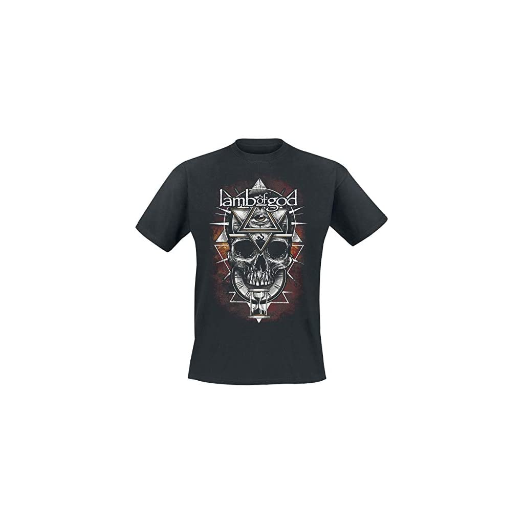 Lamb Of God All Seeing Red Camiseta