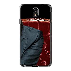 Scratch Resistant Hard Phone Cases For Samsung Galaxy Note3 With Custom Vivid Marilyn Manson Band Series SherriFakhry
