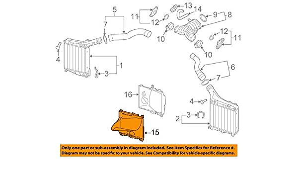 Amazon.com: Porsche OEM Cayenne Turbo Turbocharger Intercooler-Front Duct Left 95850533530: Automotive