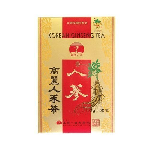 Ginseng tea (paper) 3g * 50 wrapped Korea food and beverage / Korea tea ginseng tea by Ginseng tea
