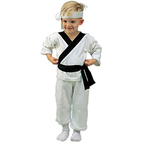 Karate Kid Outfit - Child's Toddler Kung Fu Karate Costume