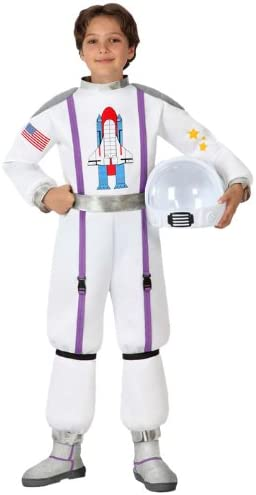 Atosa-16015 Disfraz Astronauta, color blanco, 10 a 12 años (16015 ...
