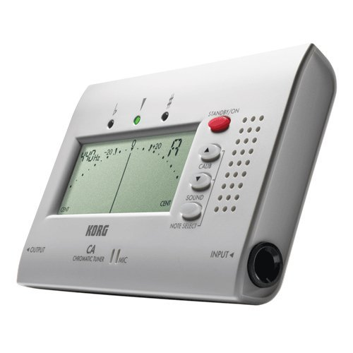 Large display auto chromatic tuner.