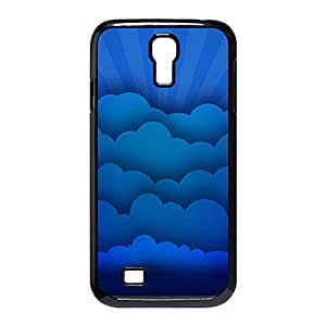 Cool Design Blue Clouds Hard Plastic Case Shell Cover for Samsung Galaxy S4 I9500