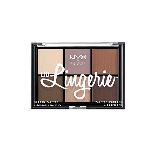 NYX PROFESSIONAL MAKEUP Lid Lingerie Shadow Palette, 0.28